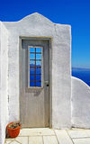 White-blue Santorini Stock Photography