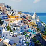 Breathtaken tSantorini Royalty Free Stock Photo
