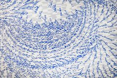 White and blue seamless carpet,abstract pattern background