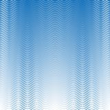 White & blue seamless waves pattern on light blue shaded background. White & blue Seamless Waves pattern on blue gradient shaded background on blue Royalty Free Stock Image
