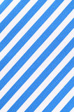 White and blue striped fabric texture Stock Images