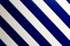 White and blue stripes. White and blue inclined rectangular stripes Royalty Free Stock Photos
