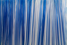 White and blue stripes Stock Image