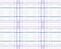 White and Blue Tartan Prints. Seamless Textured
