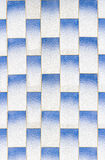 White and Blue Texture Tiled floor for background. Royalty Free Stock Photos