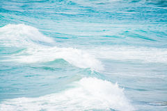 White and blue waves Royalty Free Stock Images
