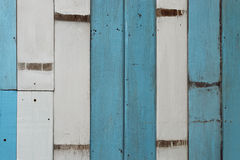 White and blue wood texture Royalty Free Stock Image
