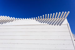 White-blue wooden abstract Royalty Free Stock Images