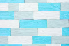White and blue wooden plank. White and blue wooden plank background Royalty Free Stock Photos
