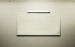 White Board In Learning Class Stock Image
