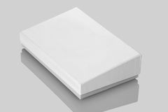 White Board Product Packaging Box Stock Image