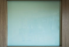 White board. With wooden pattern Royalty Free Stock Photo