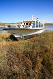 White boat Royalty Free Stock Image