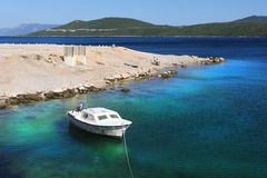 Adriatic sea croatia coast Royalty Free Stock Image