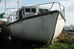 White boat Royalty Free Stock Photos