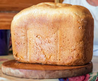 white bochenka chleba Zdjęcie Stock