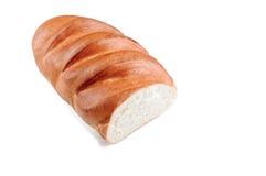 white bochenka chleba Odgórny widok Zdjęcia Royalty Free