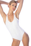 White body suit Stock Images