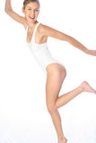 White body suit stock photography