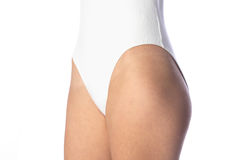 White body suit Royalty Free Stock Photos