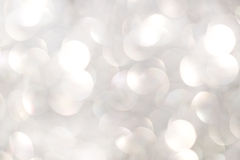White bokeh Stock Photography