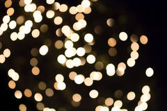 White Bokeh Lights Stock Photography