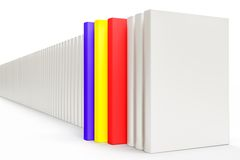 White books Stock Photo