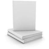 White books. Isolated render on a white background royalty free illustration