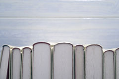 White books Stock Photos