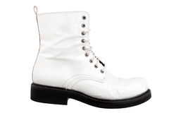 White boot Royalty Free Stock Photography
