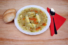 White borscht Stock Photos