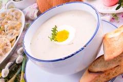 White borscht Royalty Free Stock Photography