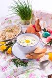 White borscht Royalty Free Stock Image