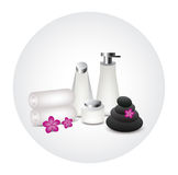 White bottle product Stock Photography