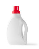White bottle with red cap Stock Images