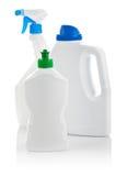 White Bottles Royalty Free Stock Photos