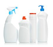 White bottles Royalty Free Stock Photo