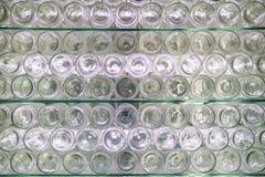 White bottles bottoms royalty free stock photo