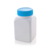 White bottles on a white background Stock Photography