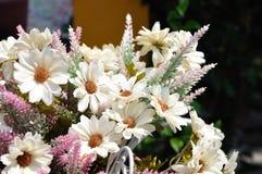 White Bouquet for house decoration. Stock Photos