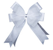 White bow Royalty Free Stock Image