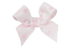 White bow Stock Photography