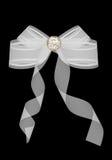 White bow Stock Photo
