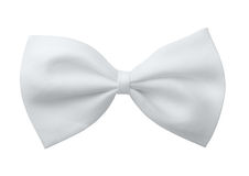 White bow tie Stock Photo