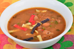 Borracho Bean Soup Royalty Free Stock Photography