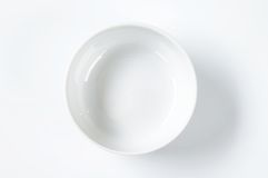White bowl Stock Photos