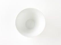 White bowl Royalty Free Stock Photos
