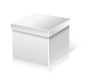 White box Royalty Free Stock Image
