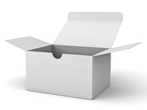 White box Stock Image