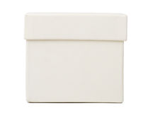 White box, closeup Royalty Free Stock Photography
